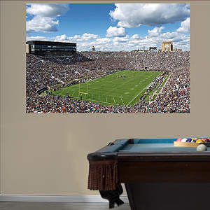 Notre Dame Stadium Mural Fathead Wall Decal